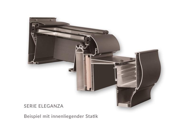 Profilschnitt Wipro Eleganza - EcoWintergärten