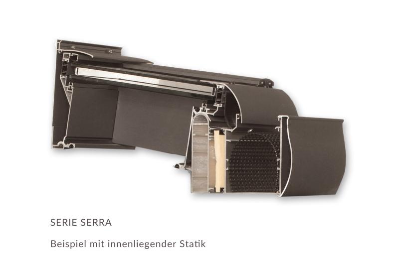 Profilschnitt Wipro Serra - EcoWintergärten