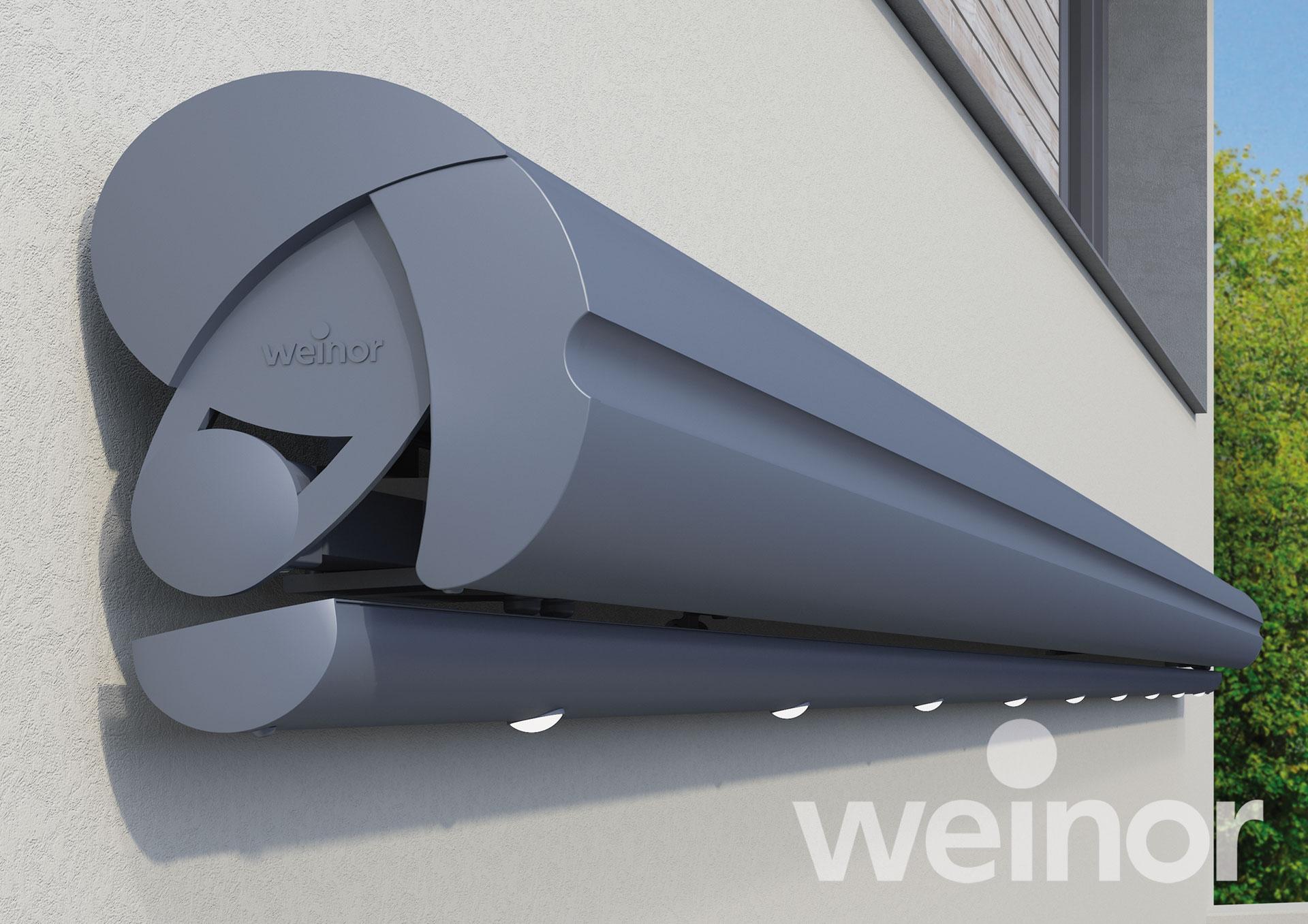 Halbkassettenmarkise Weinor Semina LED - EcoWintergärten
