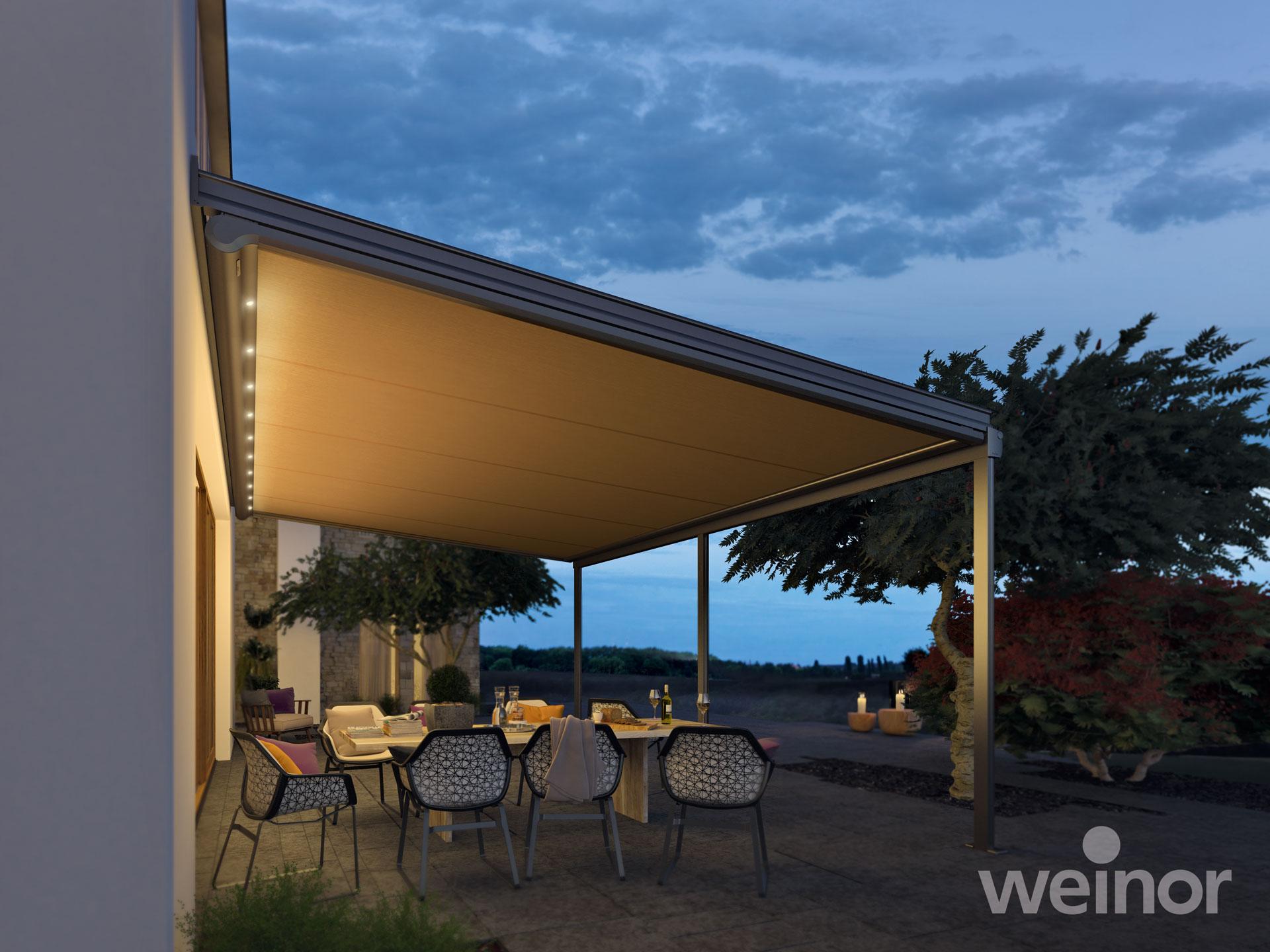 Unterglasmarkise Weinor Sottezza II - EcoWintergärten