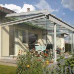 Terrassenüberdachung Weinor Glasoase - EcoWintergärten