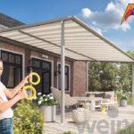 Pergolamarkise Weinor Plaza Viva - EcoWintergärten