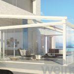 Terrassenfaltdach Weinor Pergotex II - EcoWintergärten